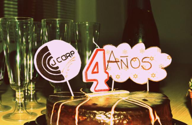 Tarta de cumpleaños JCorp