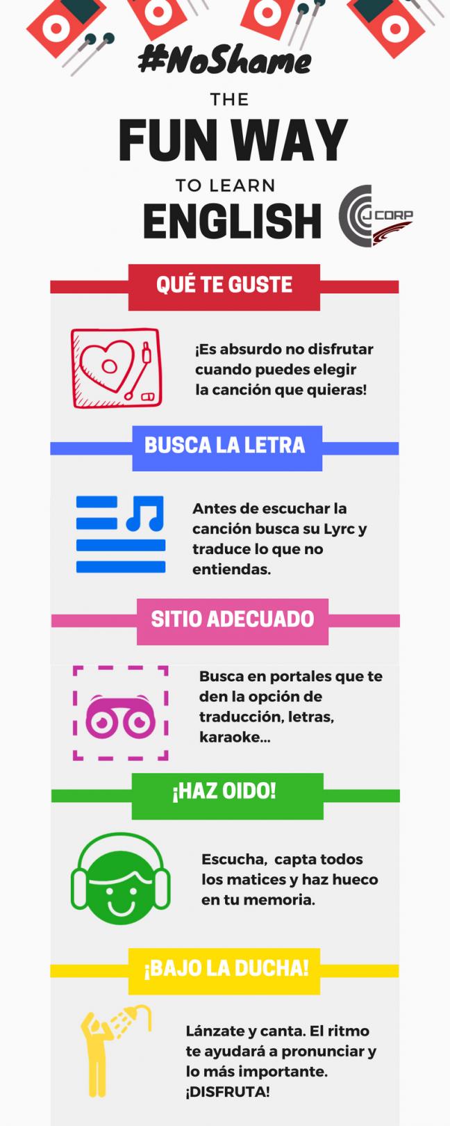 Aprender ingles con musica